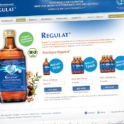 Regulat USA: website & UI design