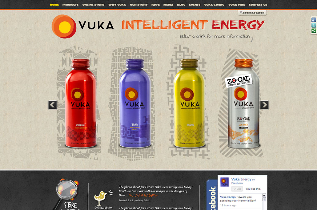 Vuka Energy website