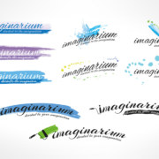 Imaginarium logo creative options