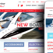 Silver Lake Marine e-commerce